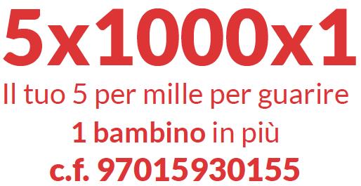 Banner donazione 5X1000