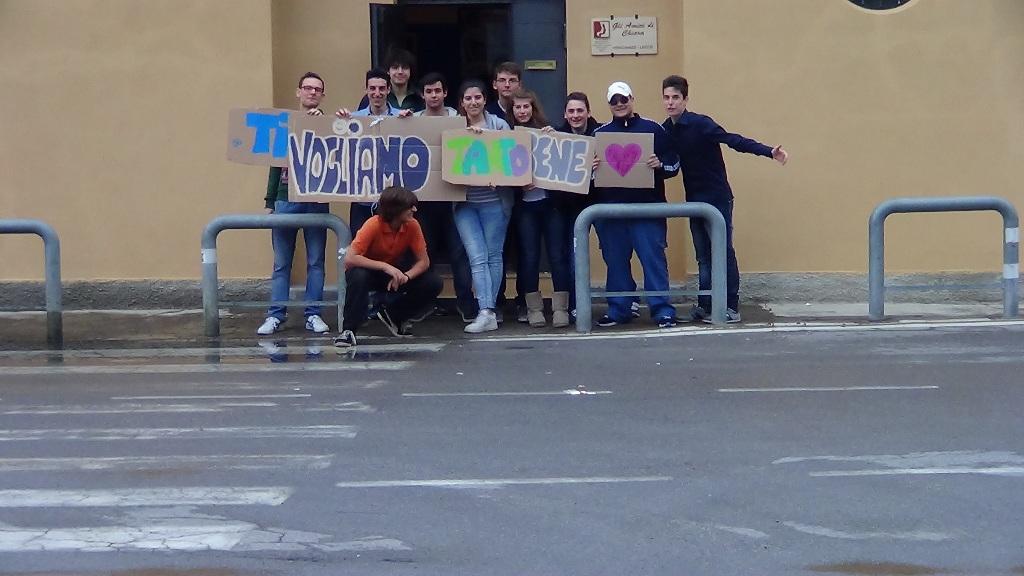 gruppo giovani amici di Chiara