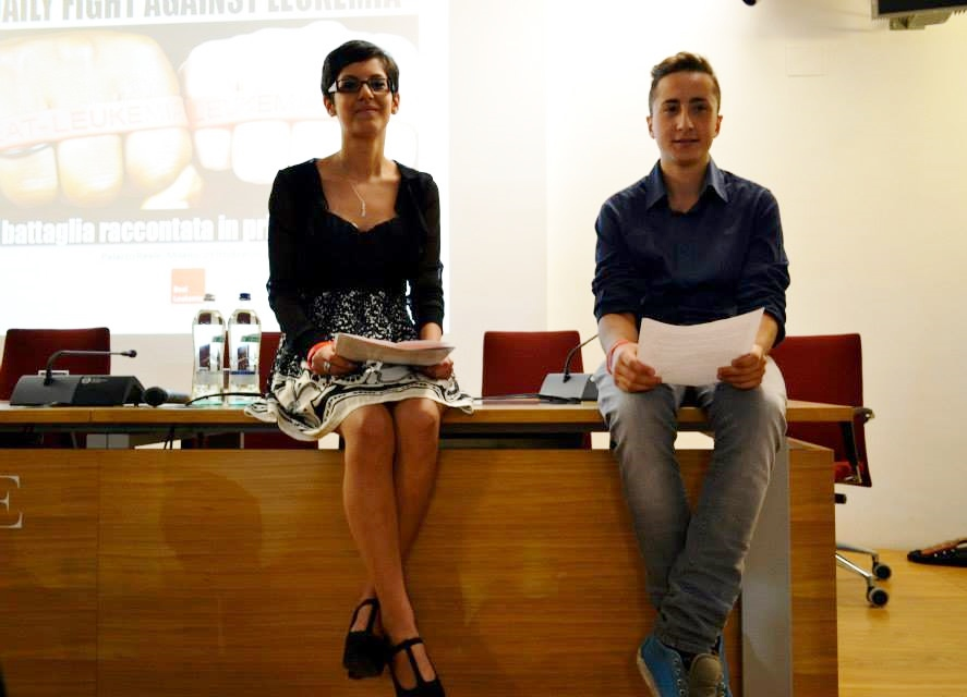 Deborah Baldo a Destra e Andrea Altomare