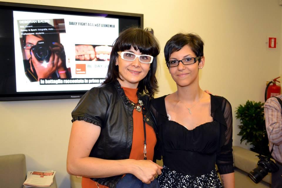 Deborah Baldo a destra con Elisabetta