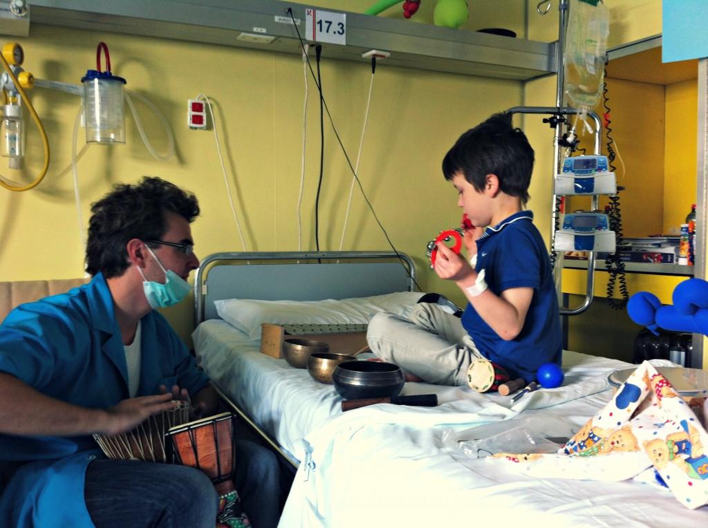 Musicoterapia in ospedale
