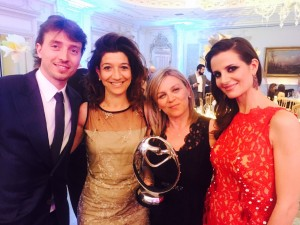 infant charity awards con montolivo e depin