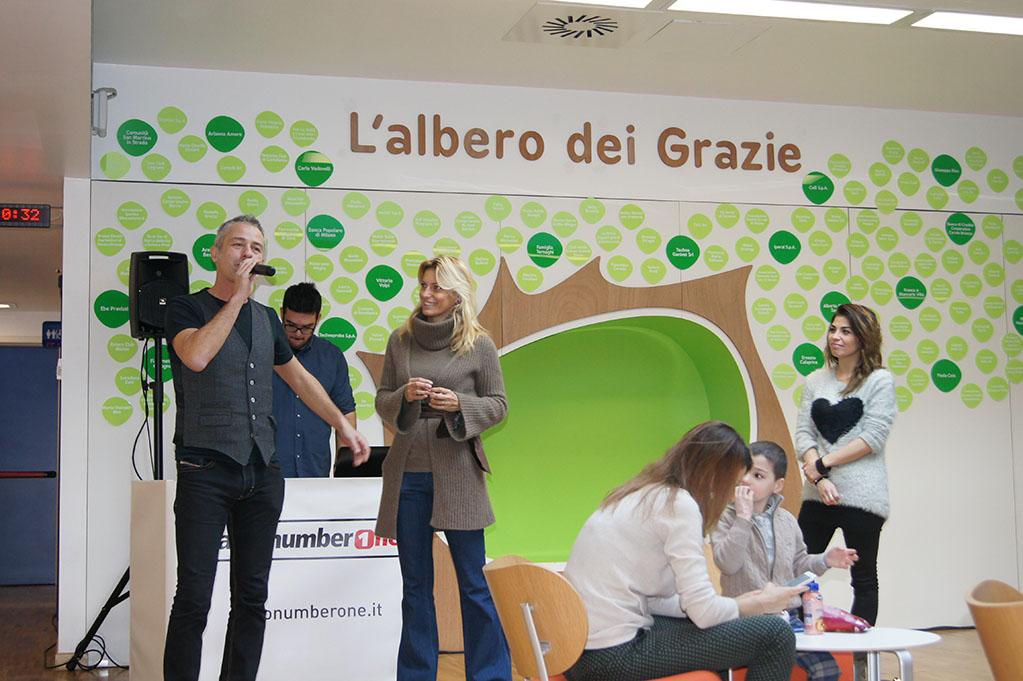 RadioNumberOne in diretta dal Centro Maria Letizia Verga
