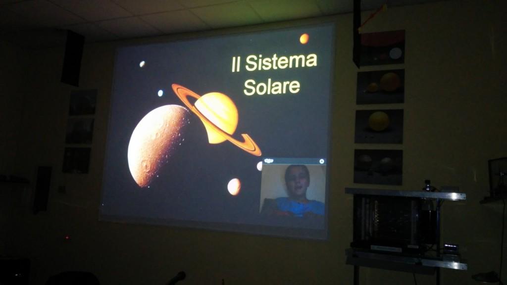 24 novembre 2015 – Dal Planetario di Lecco – collegamento via Skype con Massimo