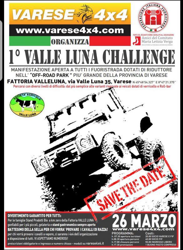valle luna challenge