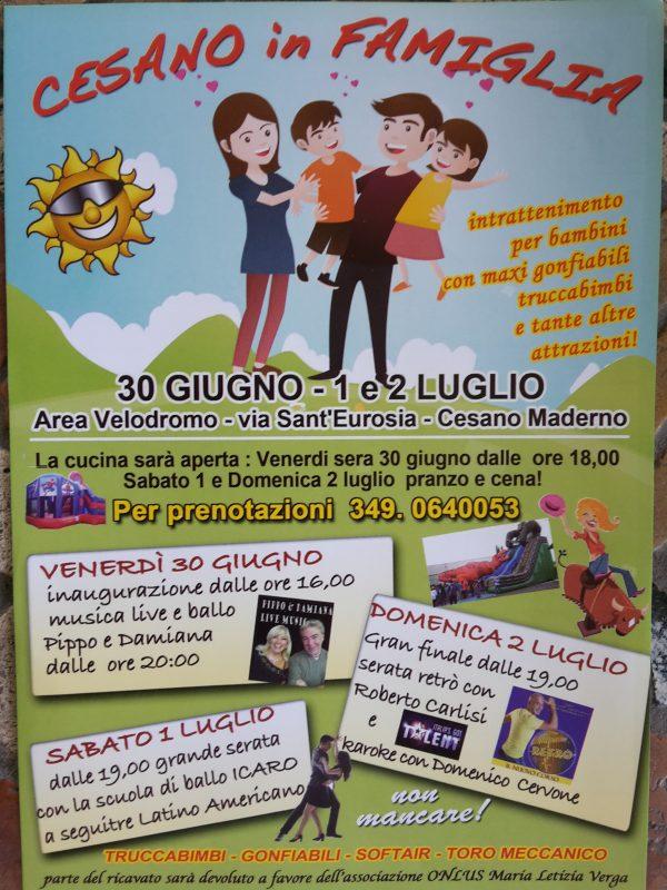 Evento_Cesano in famiglia