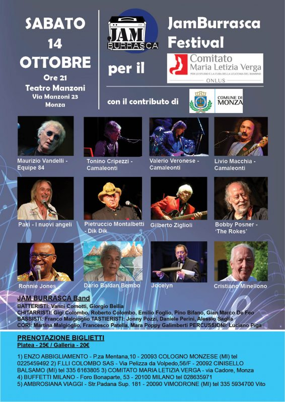 JAMBurrasca festival Monza